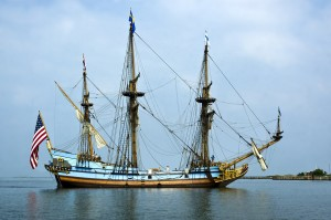 Tall ship Kalmar Nyckel arrives in Cape Charles