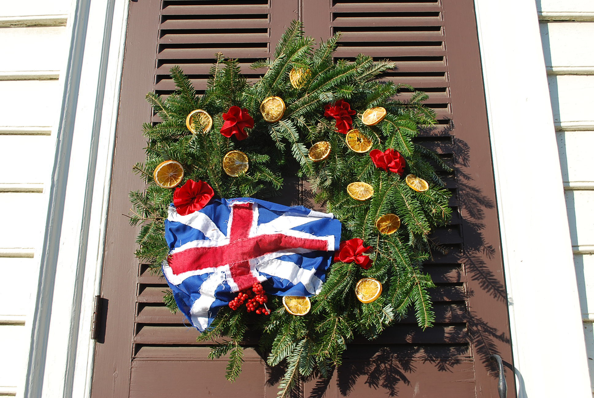 virtually - Colonial Williamsburg Christmas Decorations