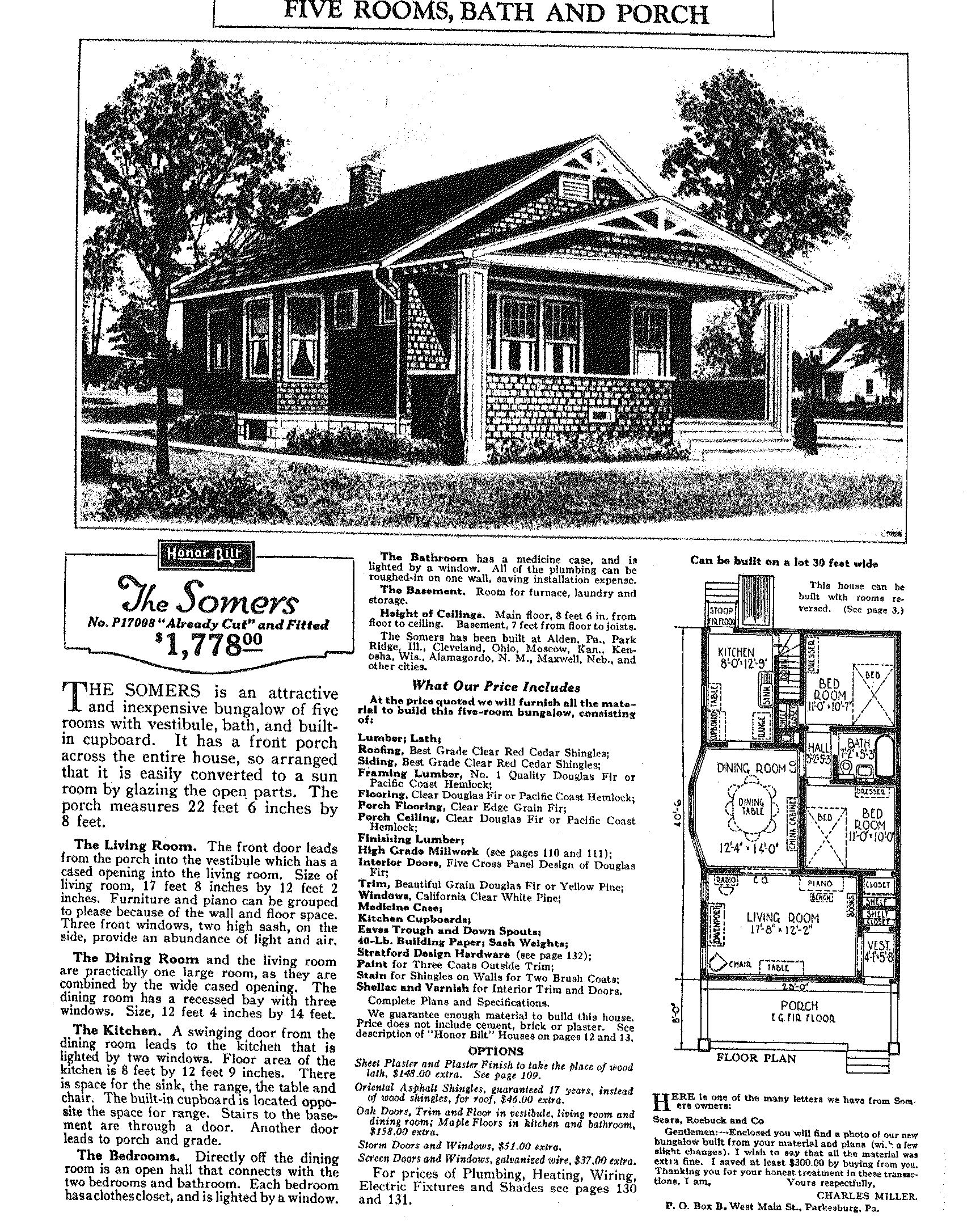 Sears and Roebuck Historic Mail Order Catalog Homes– Alive And ...