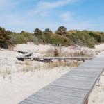 Pickets Harbor Board Walk To Beach