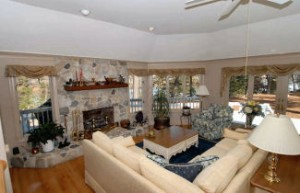 Jamesville VA contemporary Eastern Shore home for sale  great room views