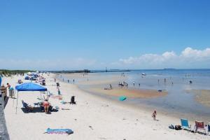 Cape Charles Beach July 4, 2013