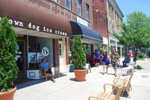Brown Dog Ice Cream Shop In Cape Charles VA