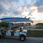 6a Surfer golf cart