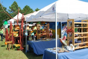 Harvest Fest - Virginia Eastern Shore art tents