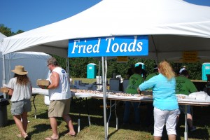 Harvest Fest Toadfish Tent