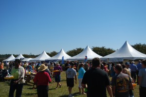 Harvest Fest food tents