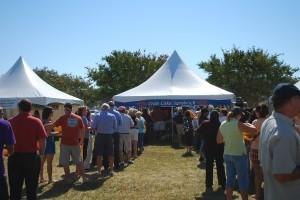 Eastern Shore Harvest Fest Crabcake Tent