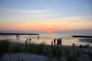 Cape Charles Beach Sunset.2