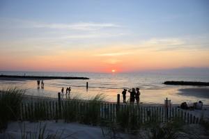 Cape Charles Beach Sunset.2