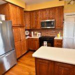 kitchen fridge view