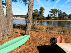 1dock with kayaks